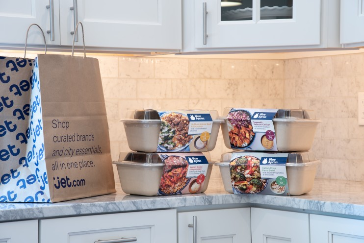 Blue Apron introduces Knick Knacks on Jet.com