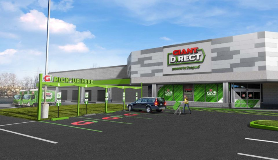Giant Foods to launch Giant Direct, Powered by Peapod