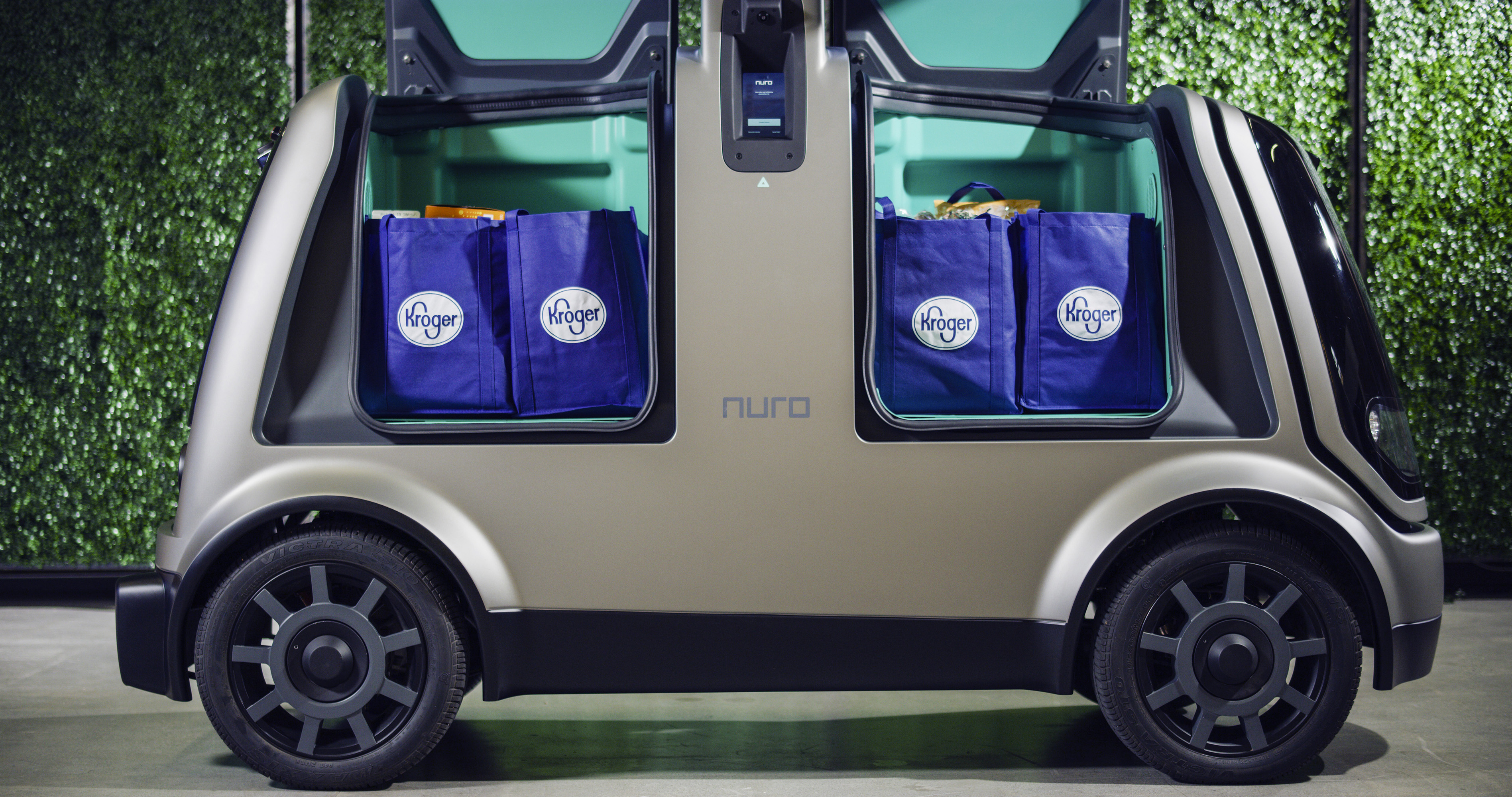 Kroger and Nuro expand autonomous grocery delivery service to Houston
