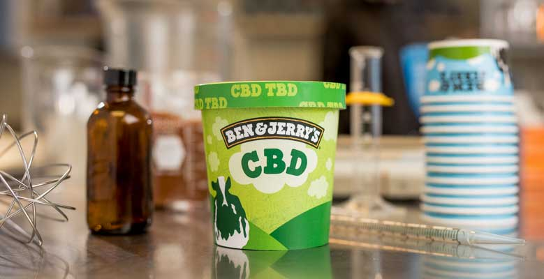 Ben & Jerry's to launch CBD-infused ice cream