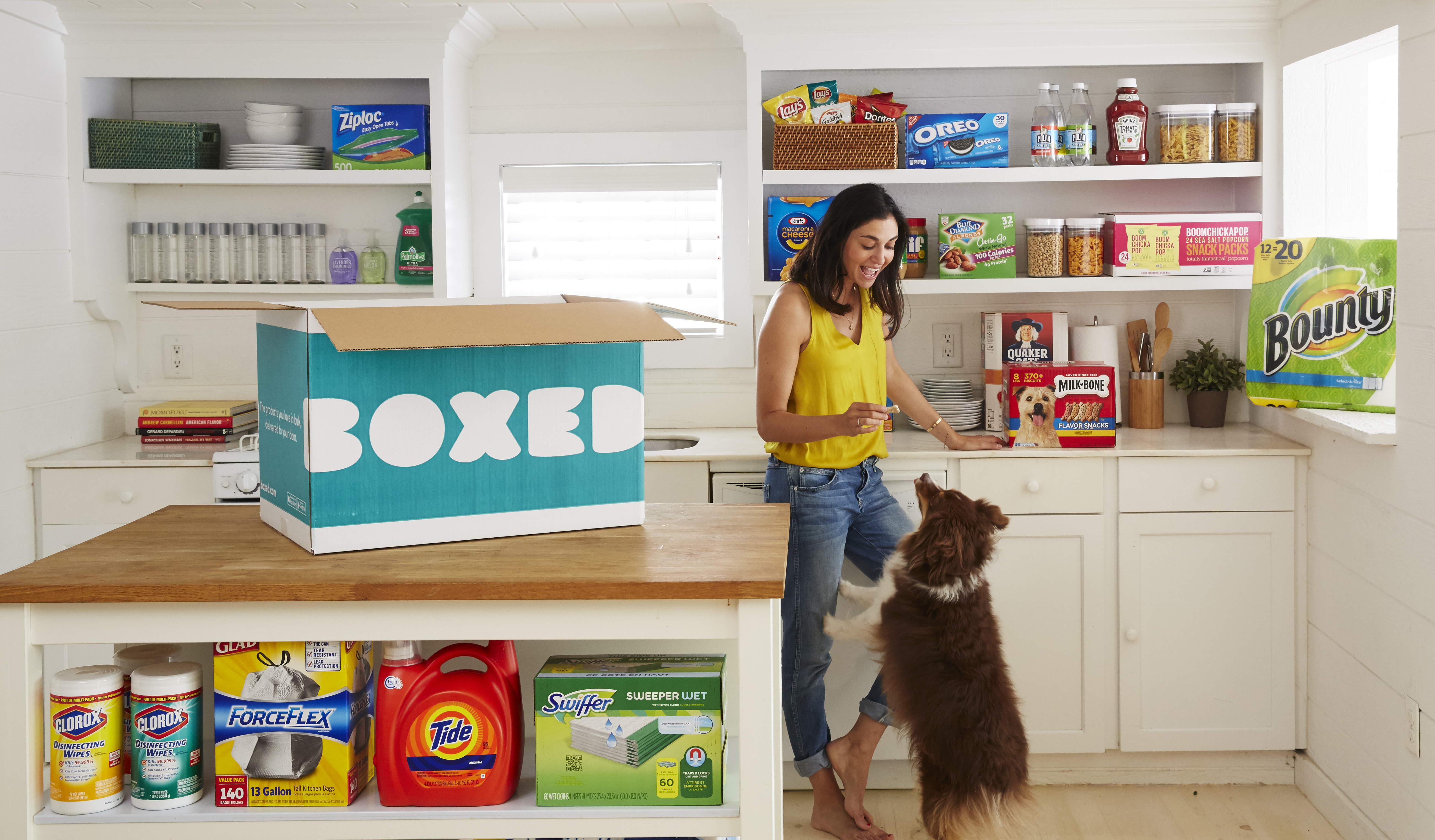 Lidl partners with Boxed for online delivery