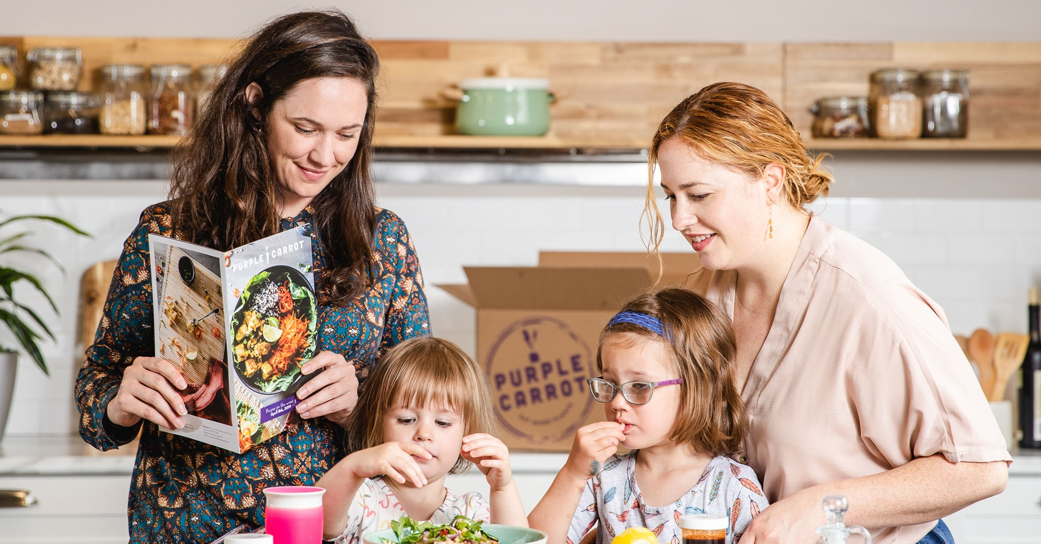 Tokyo-based meal kit company acquires Purple Carrot