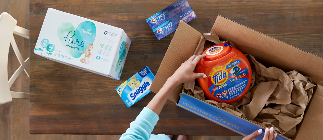 Walmart offers free NextDay delivery without membership fees